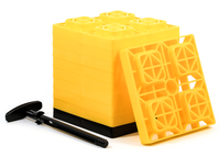 fasten leveling blocks 2x2 yellow