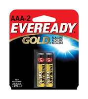 Alkaline Batteries, AAA, 2/card