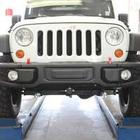 Blue Ox Jeep Wrangler Rubicon Baseplate Kit Image 1