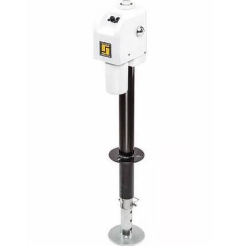 Electric Tongue Jack 3500lb White Image 1
