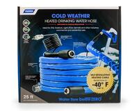 25 Ft. Cold Weather Heated Drinking Water Hose- 5/8""