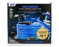 "25ft Water Hose Heated - 5/8"" Hose"