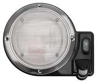 Porch Light, Round Black
