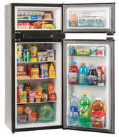 Norcold Refrigerator/Freezer 5.3cf, 3-Way, Grey - N3150AGR