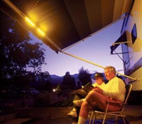 Awning Roller Light | 55-8080 | PPL Motor Homes since 1972