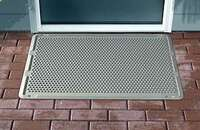 "OUTDOOR DOOR MAT - TAN - 39"" X 24"""