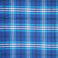 Blanket Blue Plaid 6.5'x5
