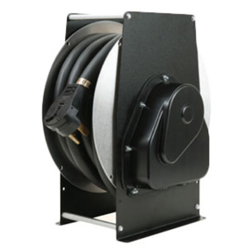 15.3561 - 30amp Cord Reel W/40'pwr - Image 1