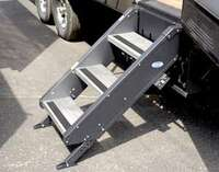 "STEPABOVE TRAILER STEPS- 3-STEP, 30"" DOOR"
