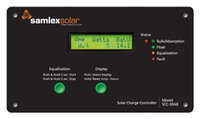 19.6412 - Samlex Solar Charge Controller - 30 Amps - Flush Mount - Image 1