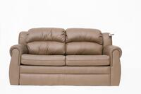 "80"" Bifold Sleeper Sofa Raised Floor 30"" Notch in Spokane Sepia PR1801-010"