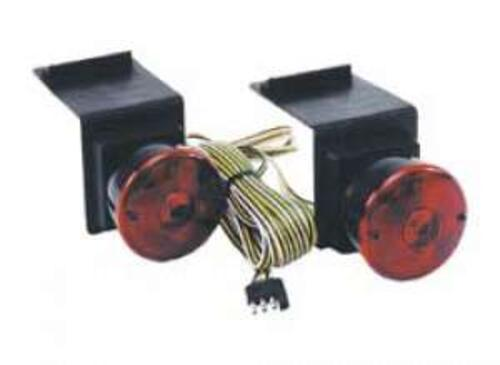 CUSTER PRODUCTS, INC. FLAP-MOUNT TOWING LIGHTS