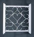 White Screen Door Grille 31-4722
