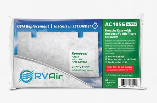 Air Conditioner Filter By RV Air, Use With Dometic RV Air Conditioners Image 3
