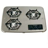 Gas Cooktop - Suburban Drop-In - 3 Burner