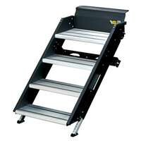 Lippert Components 791572 Solid Step Manual Fold-Down Steps