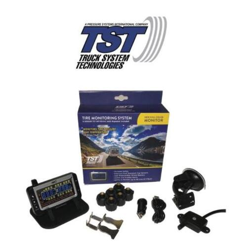 6 RV Cap Sensor TPMS System With Color Display-507 Series TST-507-RV-6
