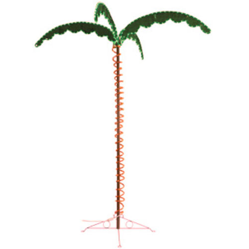18.1387 - Led Palm Tree 7' 120vac - Image 1