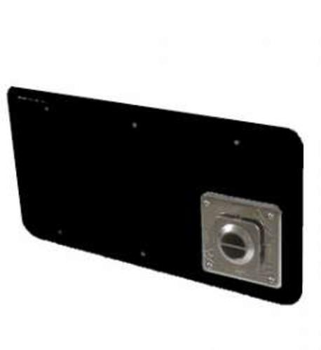 15.3564 - Atwood Small Furnace Access Door - Black - Image 1