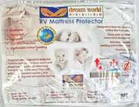 rv queen terry cotton mattress protector