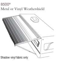 848NW16.400P - 8500 Manual Awning, Meagrn, 16' With Silver End Cap - Image 1