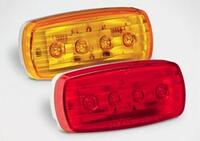 Led Oblong Amber #58
