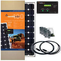 19.6421 - Samlex Solar Panel Kit - 100 Watt - Incl. Charge Controller - Image 1