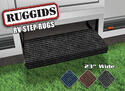 Ruggids RV Step Rug Black