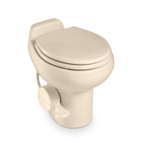 Dometic 510HS Sealand Traveler Toilet - Bone with spray