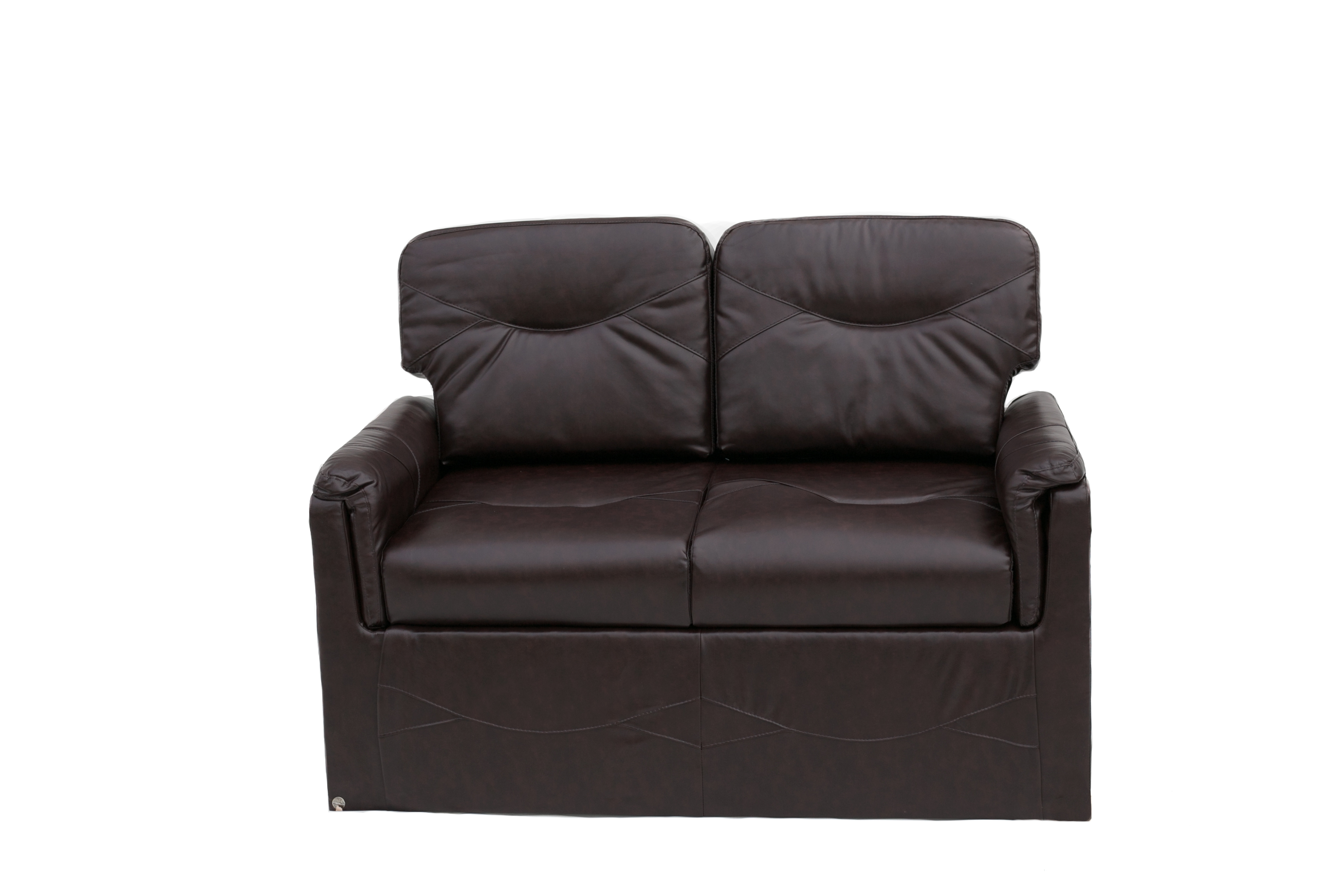 60 Trifold Sofa W Cutout In Jalico Chocolate Pr1801 009