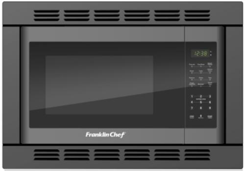convection microwave oven black with trim kit
