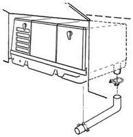 RV GENERATOR-ONAN MICROQUIET 4000 WATTS-GAS 55-0050