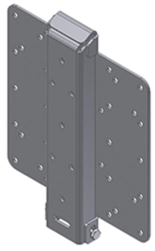 Vertical Universal Flat Screen Mount - Rigid