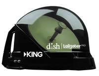 King Tailgater Pro VQ4900 Grey Translucent - Dish Network Satellite
