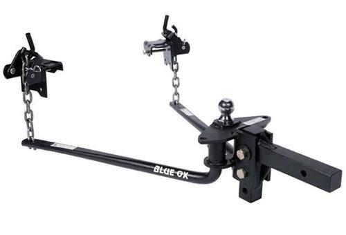 Blue Ox Round Bar Weight Distribution Hitch - 1,200 lb Tongue Weight
