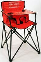 Baby High Chair - Red