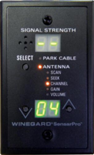 winegard sensarpro tv signal meter instructions