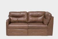 "80"" Sleeper Sofa in Schwimmer Bark PR1801-020"