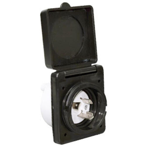19.1687 - 30a Inlet, Black, Carded - Image 1