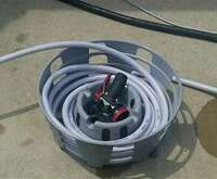 WATER HOSE CADDY - FOR WATER HOSE AND POWER CORDS