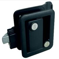 Fastec Industrial FIC Travel Trailer Lock (with Keyed Deadbolt) - Black