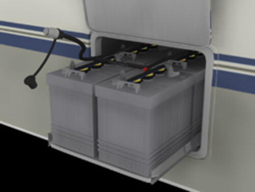 RV-2000, Battery Watering System