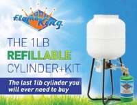 Refillable Propane Tank and Kit. 06.0900 YSN1LBKT