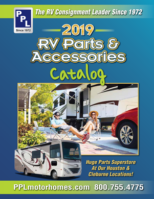RV Parts Catalog - Order your free copy | PPL Motor Homes