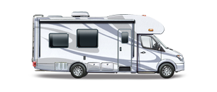 Motor Homes Sold in the last 2 years