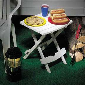 Folding Patio Side Tables Quick Fold Table Adams 17 6431