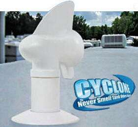 Rotating Plumbing Vent Cap Cyclone By Camco 31 0361