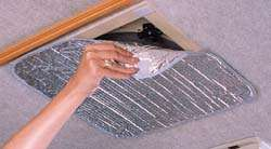Vent Insulator in use
