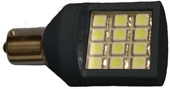 Revolution led bulb black