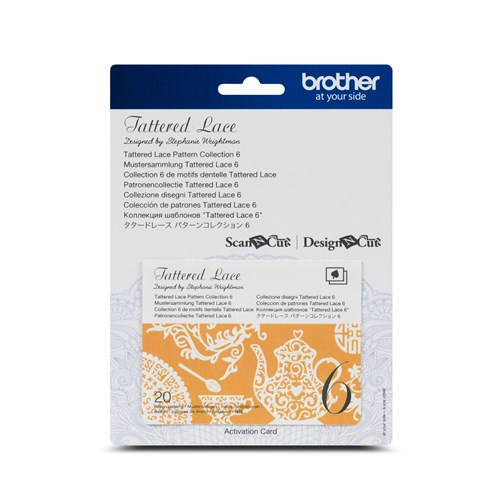 Brother CATTLP06 Tattered Lace Pattern Collection 6